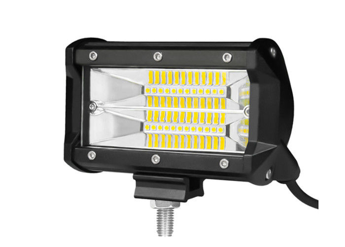 5 Inch Off Road Running Lights Two Row 72W Flood Beam High Brightness
