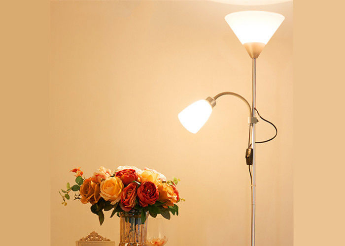Night LED Adjustable Floor Lamp With Dimmer , Led Reading Lamp Floor Standing